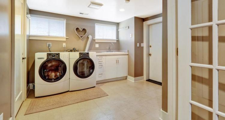 Stylish Basement Laundry Room Ideas