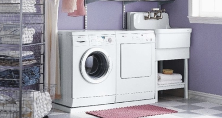 Eye-Catching Laundry Room Shelving Ideas Pictures