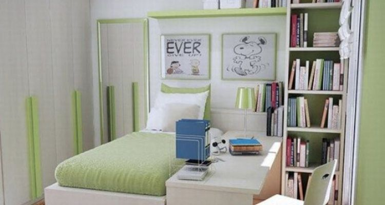 Cool Colorful Bedroom Design Ideas for Small Space