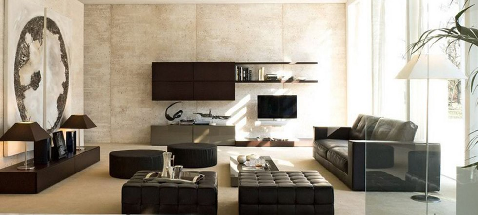 Creative and Inspiring Modern Living Room Storage