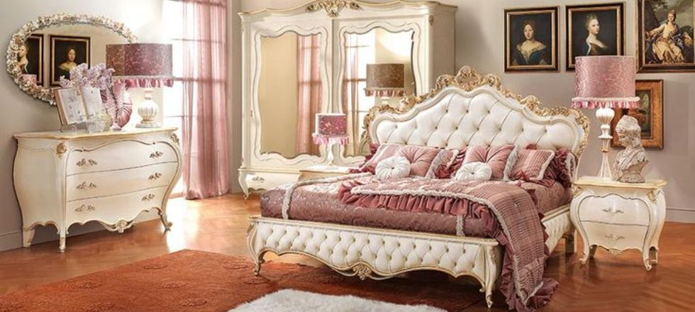 Modern Baroque Bedroom Decoration Ideas