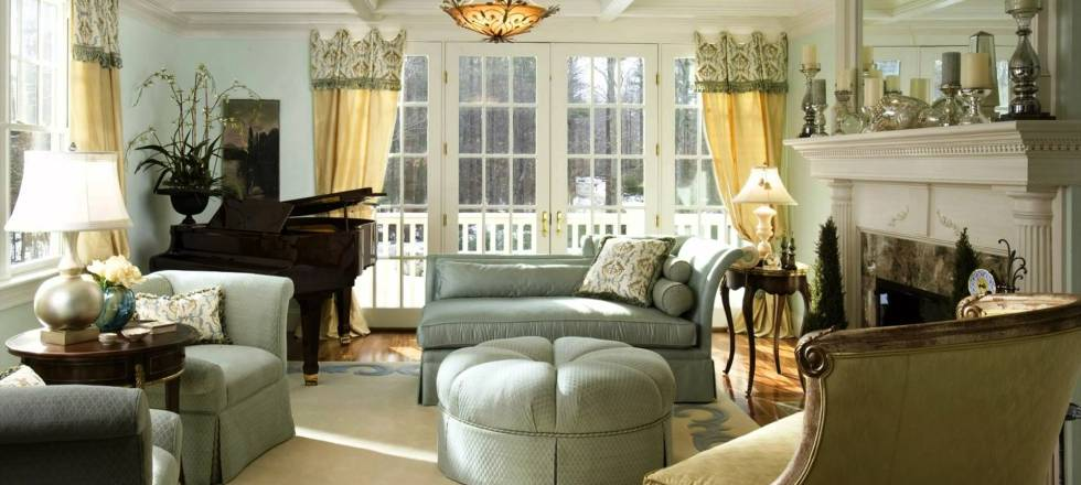 Modern Victorian Style Interior Design Ideas