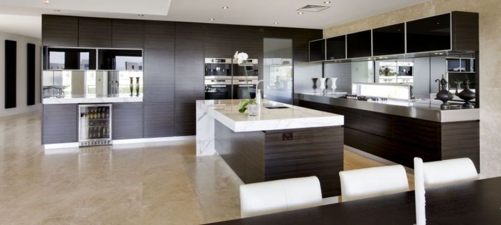 Contemporary Open-Plan Kitchen Design Ideas