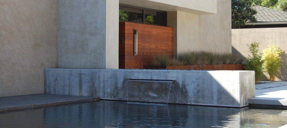 Beautiful Outdoor Water Wall Design Ideas