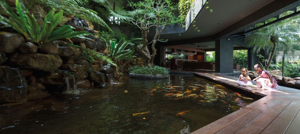 Gorgeous Garden Pond Design Ideas in Indoor Garden