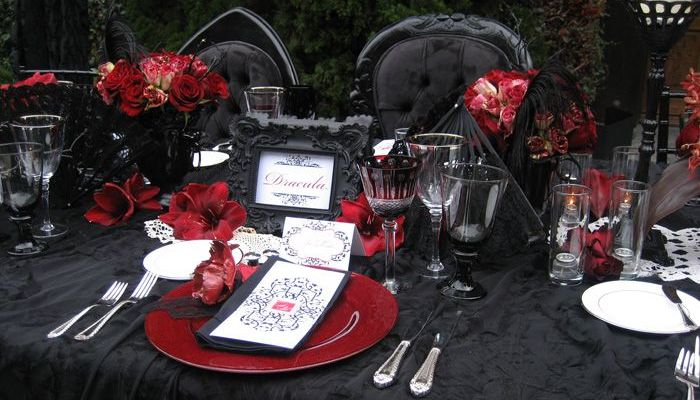 DIY Halloween Wedding