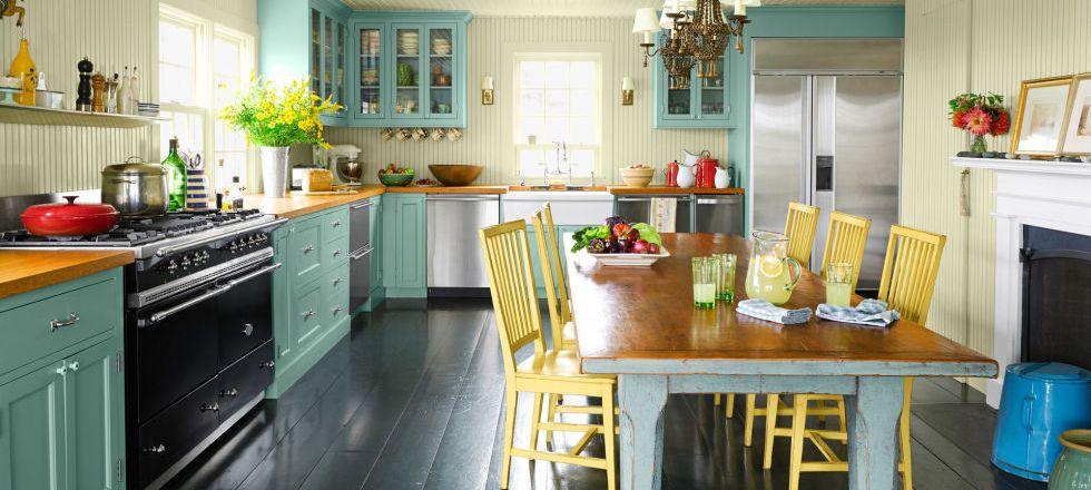 Vibrant Colors Kitchen Design Ideas for You