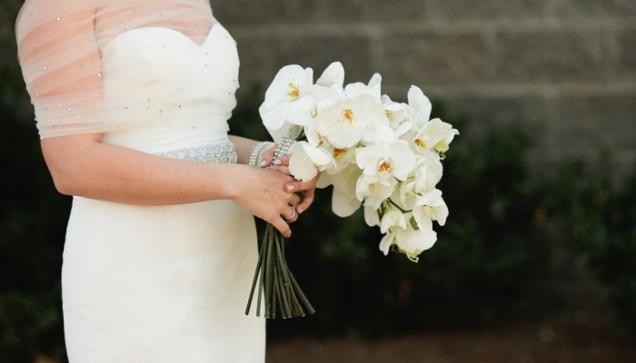 White Phalaenopsis Orchid Wedding Flowers for Wedding Bouquet