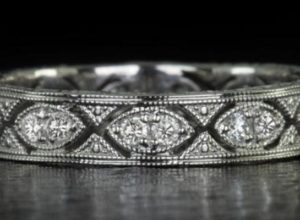 Antique Diamond Wedding Bands