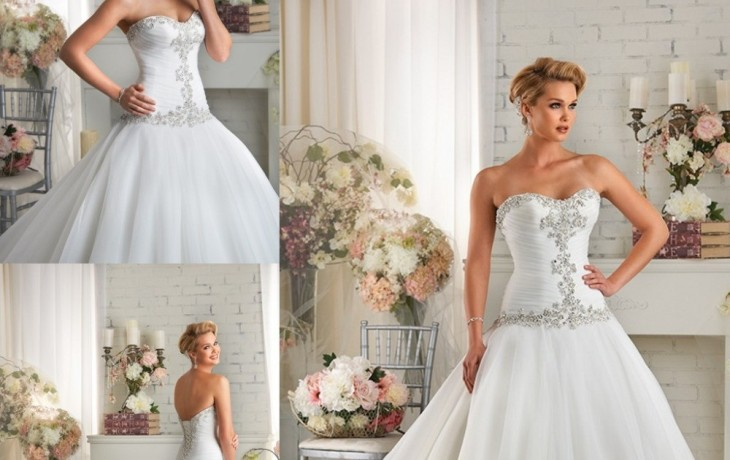 Beautiful and simple wedding dresses