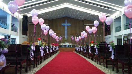 Creative Church Wedding Decoration Ideas