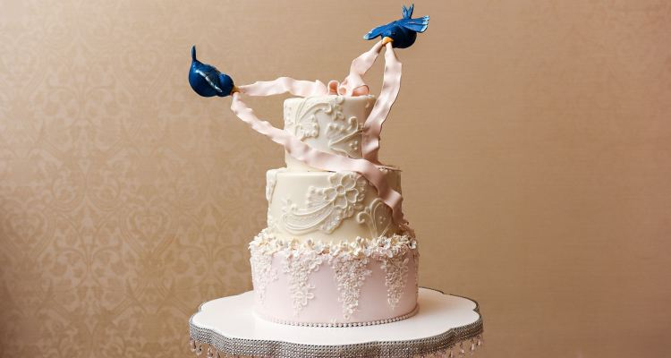 Cinderella themed wedding cake toppers