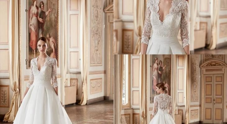 Classic and simple wedding dresses