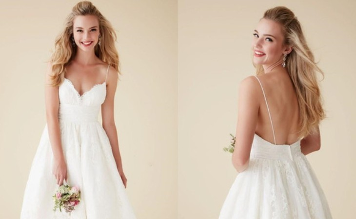 Cute and simple wedding dresses