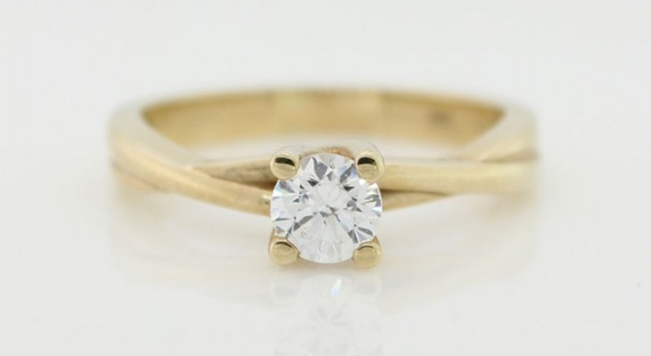 Cz tiffany style engagement rings