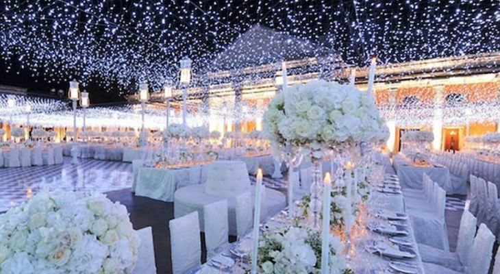 Enchanted evening wedding theme