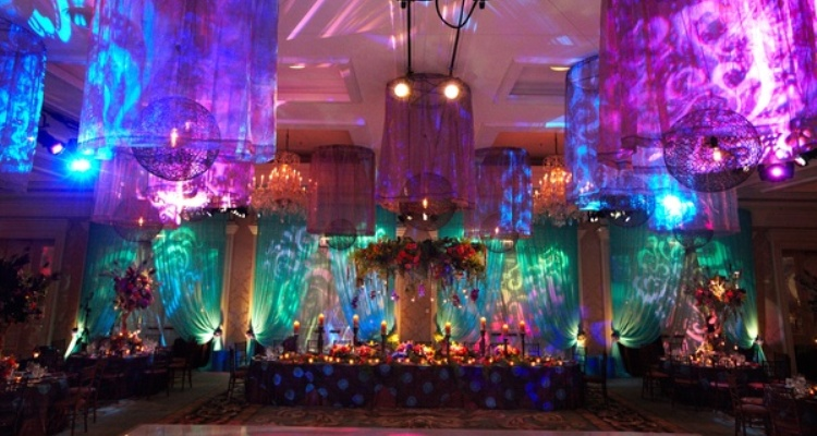 Enchanted forest wedding theme colorful