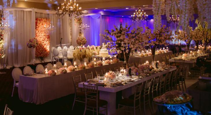 Enchanted forest wedding theme decorations