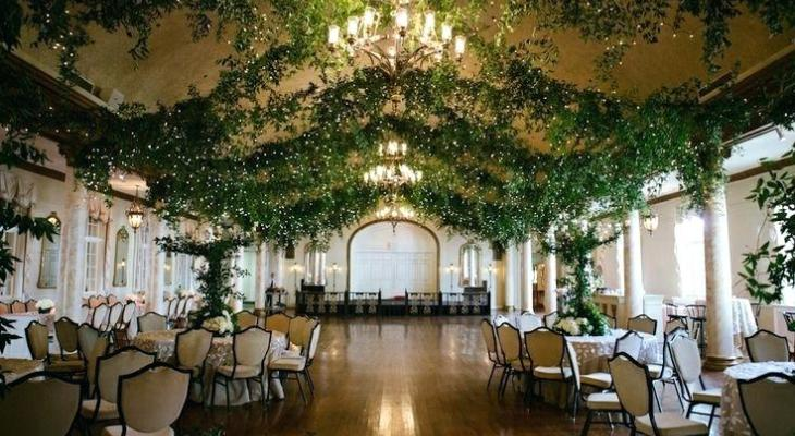 Enchanted garden wedding theme ideas