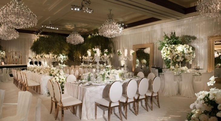 Enchanted wedding decor
