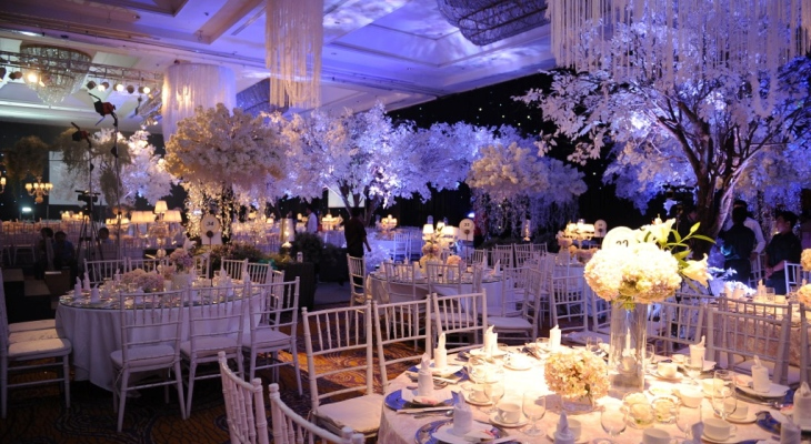 Enchanted wedding theme romantic