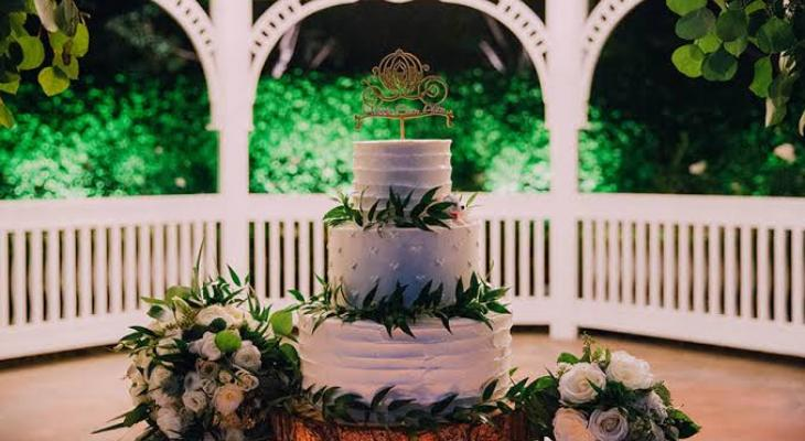 Floral wedding cake pictures