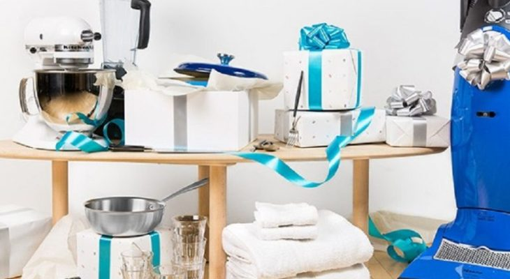 Group gift wedding registry