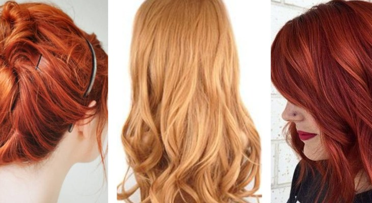 Red Hair Color for Light Skin Tone