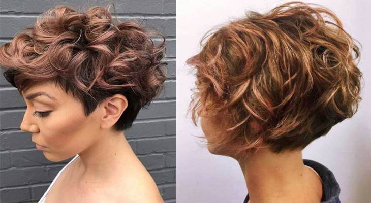 Short Cropped Curly Bob