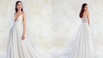Simple wedding dresses casual