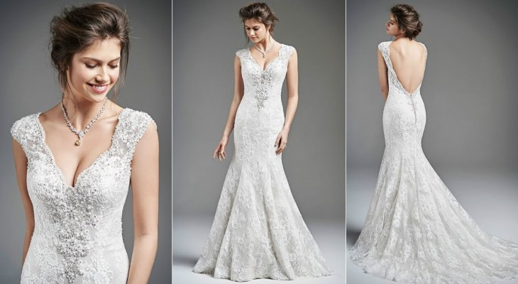 Simple wedding dresses lace
