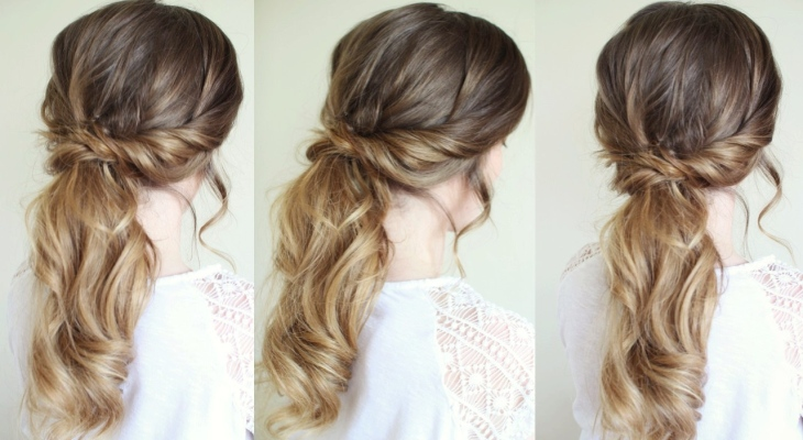 Tousled braid