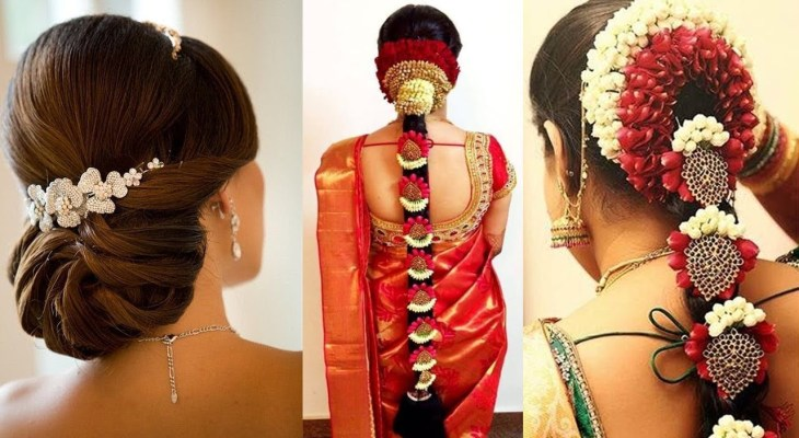 Traditional South-Indian Style Braid