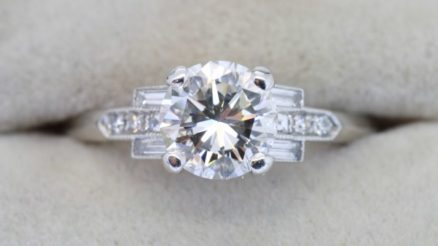 Vintage Diamond Engagement Ring