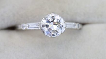 Vintage diamond engagement rings 2+ carat