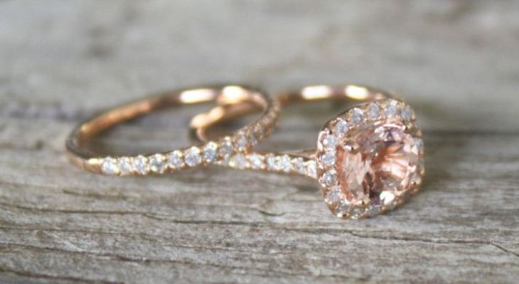 Vintage non diamond engagement rings