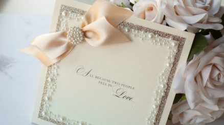Wedding Invitation Wording Love Story