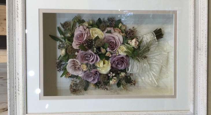 Wedding bouquets preserved