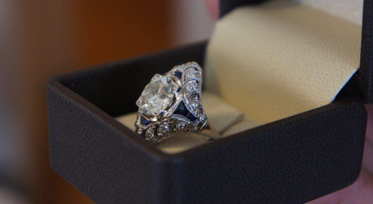 An Antique Engagement Ring To Show Your Commitment