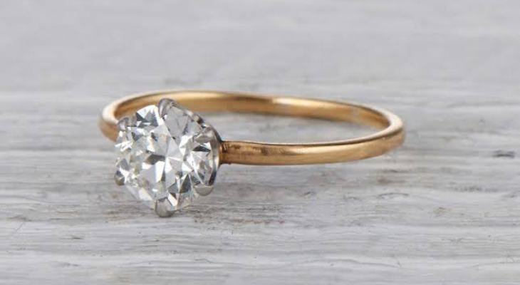 Antique engagement rings tiffany