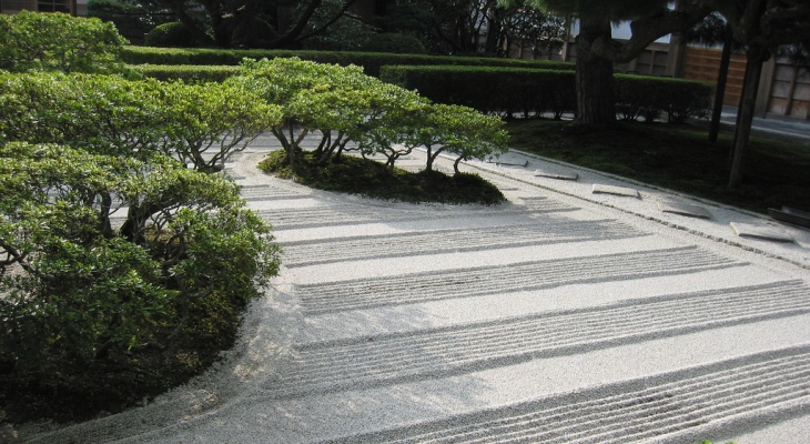 Best sand for japanese garden
