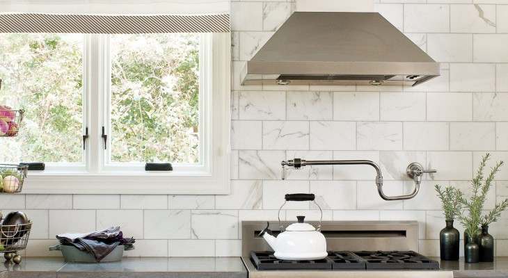Classic tile for kitchen backsplash