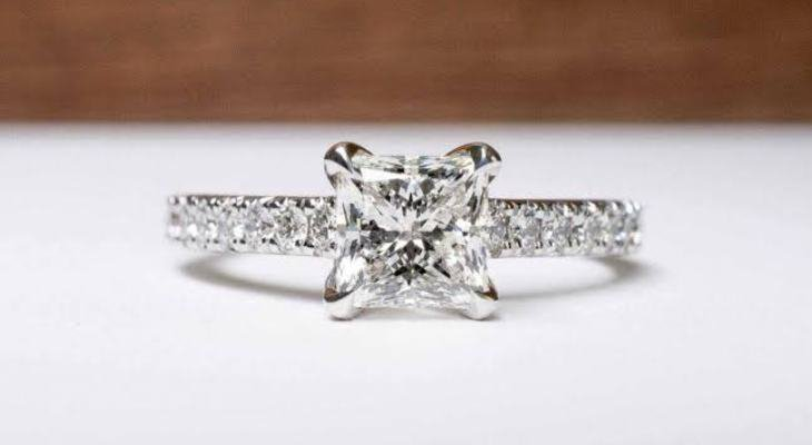 Discount Princess Cut Engagement Rings
