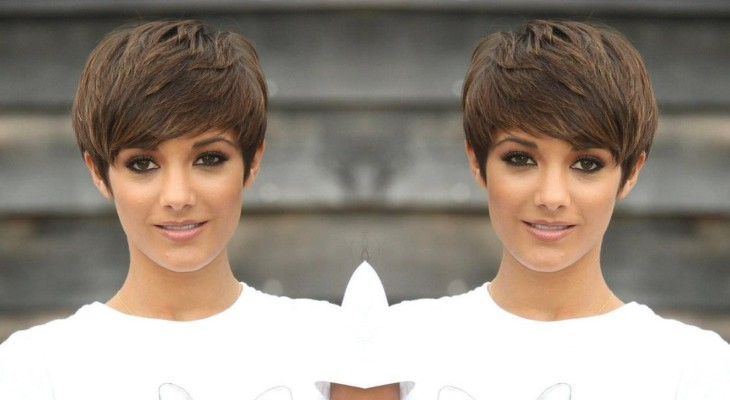 Frankie Sandford's Cute Feather Pixie