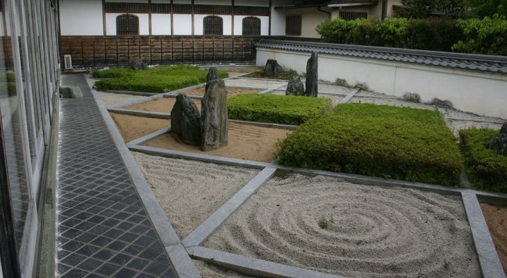 How to make japanese sand garden