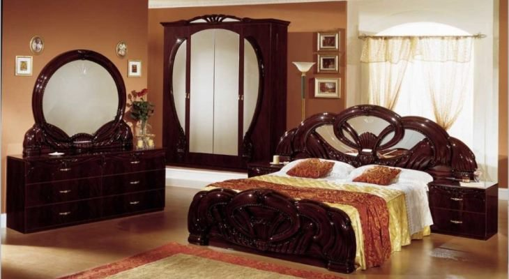 Indian style bedroom cupboards