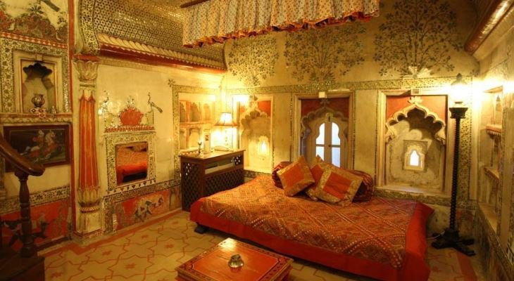Indian style bedroom interior design
