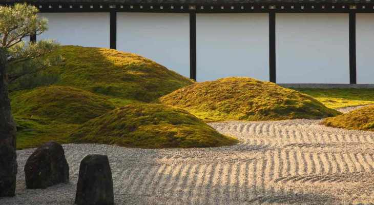 Japanese sand garden design ideas