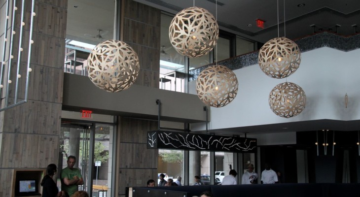 Luxury oral pendant lights