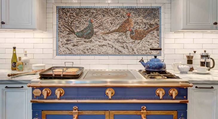 Most classic kitchen backsplash